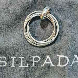 Silpada Five Ring Pendant